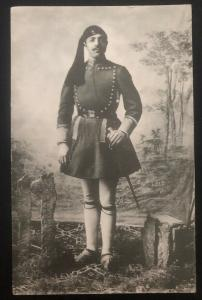 Mint Greece Real Picture Postcard RPPC Navy Evzones Soldier