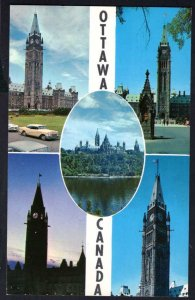 Ontario OTTAWA MultView The Canadian Houses of Parliament Chrome