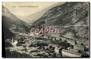 Old Postcard Modane Furnaces