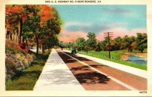 Virginia Roanoke U S Highway No 11