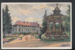 Slovakia Postcard - Lazne Tatranska Lomnica - Hotel Lomnica - E.Kosy   T7486