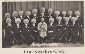 RP: Ural-Kosaken-Choir , Russia , 1929