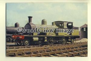 ry983 - Bluebell Railway Engine no 488 - postcard