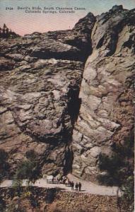 Colorado Colorado Springs Devil's Slide Cheyenne Canon