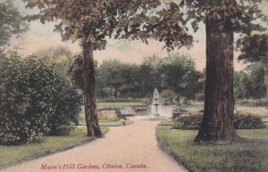 OTTAWA, Ontario, Canada, 1900-1910's; Major's Hill Gardens