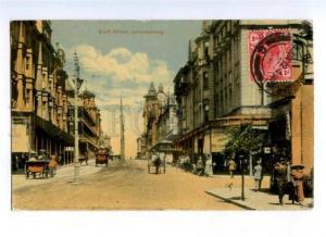 173214 SOUTH AFRICA JOHANNESBURG Eloff street Vintage postcard