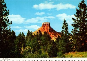 Wyoming Red Butte On Highway U S 65 Between Newcastle and Sundance