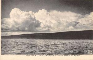 Nome Alaska Beautiful Thunder Cloud Waterfront Antique Postcard K37664