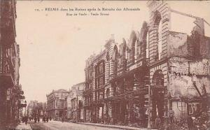 Vesle Street, Reims (Marne), France, 1900-1910s