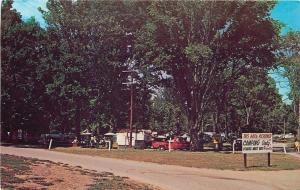 Bowling Green KY~Beech Bend Park Camp Grounds~Camping ONLY Sign~1950s Postcard