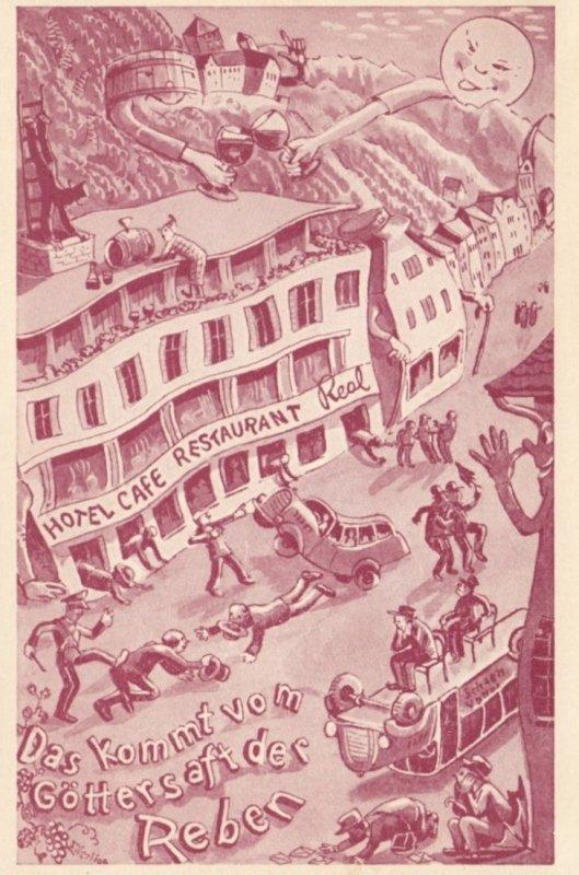 Hotel Restaurant Real , Vaduz , Liechtenstein , 50-70s