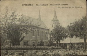 Everberg Belgium Chapelle du Couvent c1910 Used Postcard