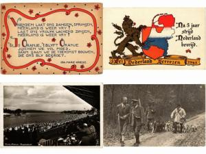 WW II.  MILITAIRE GUERRE MILITARY 48 CPA INCL. LIBERTY CARDS NETHERLANDS