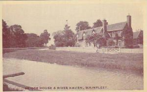 RP;Bridge House & River Haven, Wainfleet, Lincolnshire, England, United Kingd...
