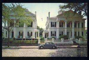 Nantucket, Massachusetts/Mass/MA Postcard, Portico Houses, Cape Cod, Volkswagon