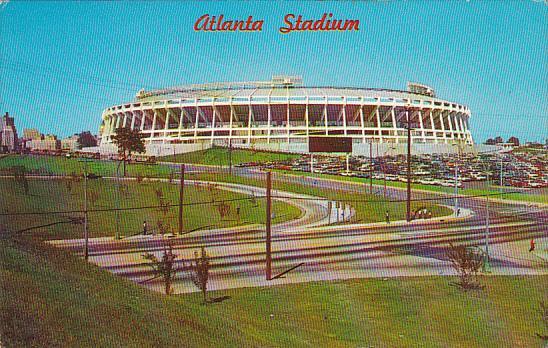 Atlanta Stadium Atlanta Georgia