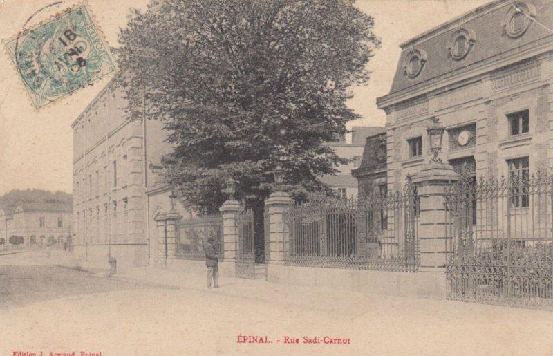 EPINAL, Vosges, France, 1906 ; Rue Sadi-Carnot