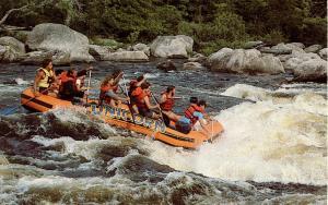 ME - West Forks. Wild River Rafting