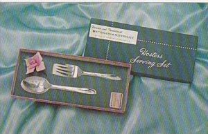 Advertising William A Rogers Silverware