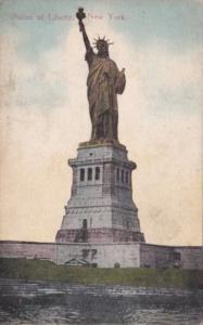 New York Harbor Statue Of Liberty