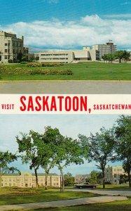 SASKATOON , Saskatchewan , Canada , 1950-60s ; Library & Convocation Hall , U...