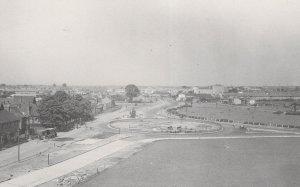 Beacontree Heath Looking West in 1937 Dagenham Aerial Postcard