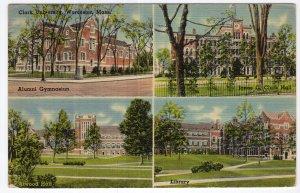 Worcester, Mass, Clark University
