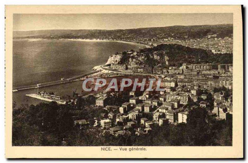 Postcard Old Nice Vue Generale