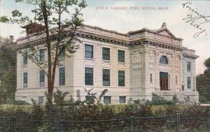 Michigan Port Huron Public Library 1907