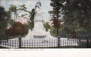 New York City Bronx Park Heine Monument