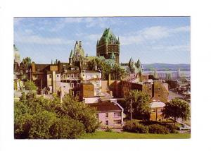 Post Office Issue with Matching 8 Cent Stamp Chateau Frontenac, Quebec