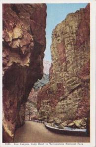 Box Canyon Cody Road To Yellowstone National Park