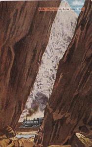 Colorado Royal Gorge The Crevice