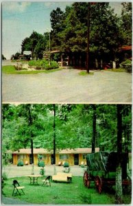 Cartersville, Georgia Postcard BECK'S MOTEL Highway 411 Roadside / 1969 Cancel
