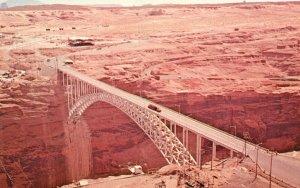 Page, Arizona, AZ, Glen Canyon Bridge, Chrome Vintage Postcard g5709