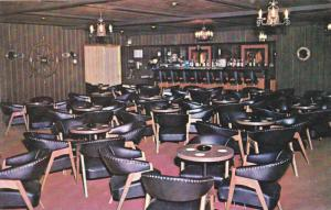 Interior, The Buccaneer Loungem Of The Town & Country Restaurant, Port Hawkes...