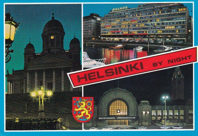 SUOMI, Finland, PU-1970; Helsinki Helsingfors, Night Views