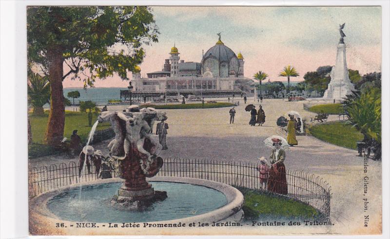 Water Fountain, La Jetee Promenade Et Les Jardins, Fontaine Des ...