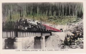 Canada Canadian Pacific Railroad Limited At No 2 Tunnel Near Field British Co...