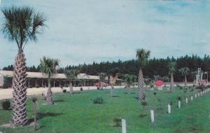 Exterior Lawn View of Dixie Dream Motel in the Palms, Dillon, South Carolina,...