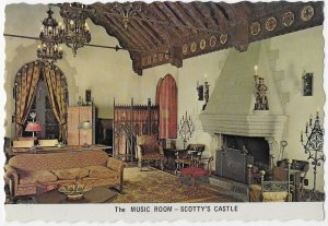 Music Room Scotty's Castle Death Valley California 4 by 6