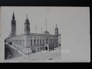 USA: NEW YORK CITY - Madison Square Garden c1905 UB