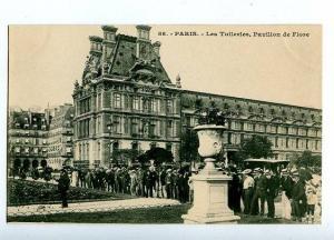 131537 FRANCE PARIS Les Tuieries Vintage postcard
