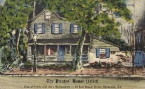 The Pirates' House Savannah GA 1968