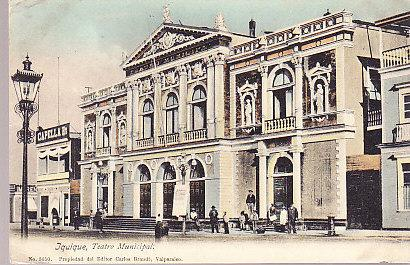 Chile - Iquique Municiple Theatre 1910
