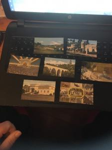 Balboa Park, San Diego CA,Lot of 19  Mini Picture cards , 2-1/8 x 3-7/8