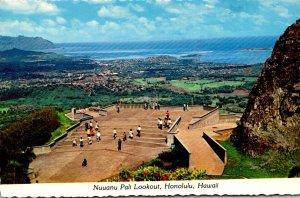 Hawaii Honolulu Nuuanu Pali Lookout 1979