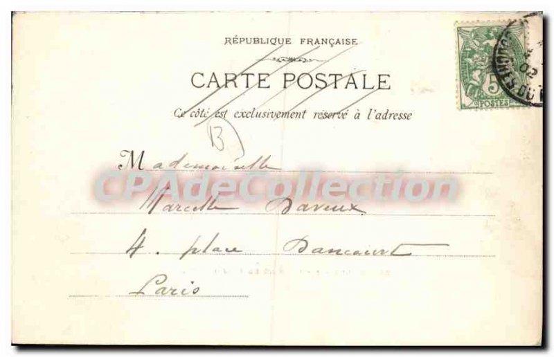 Postcard Old Marseille Basins De La Joliette