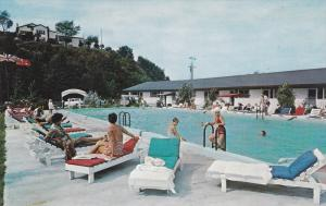 Hotel-Motel de la Roche Pleureuse , CHARLEVOIX , Quebec , Canada , 50-60s #2