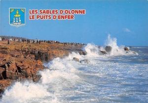 France Les Sables d'Olonne Le Puits d'Enfer Rough Sea